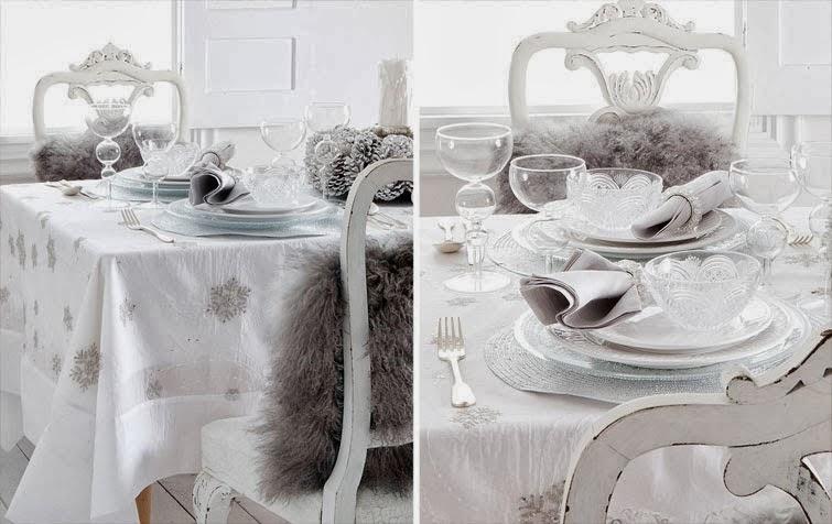 El petit calaix detalles para la mesa de navidad - Zara home navidad ...