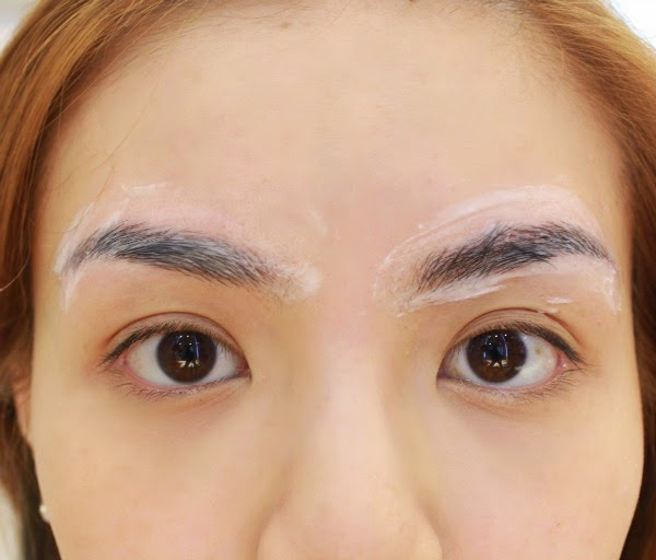 Silver ang as is eyebrow embroidery at allure beauty for 1 salon eyebrow embroidery