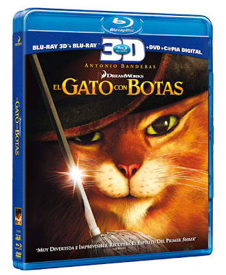 El Gato con Botas (2011) 720p BRRip 912MB mkv Latino AC3 5.1 ch (RESUBIDA)