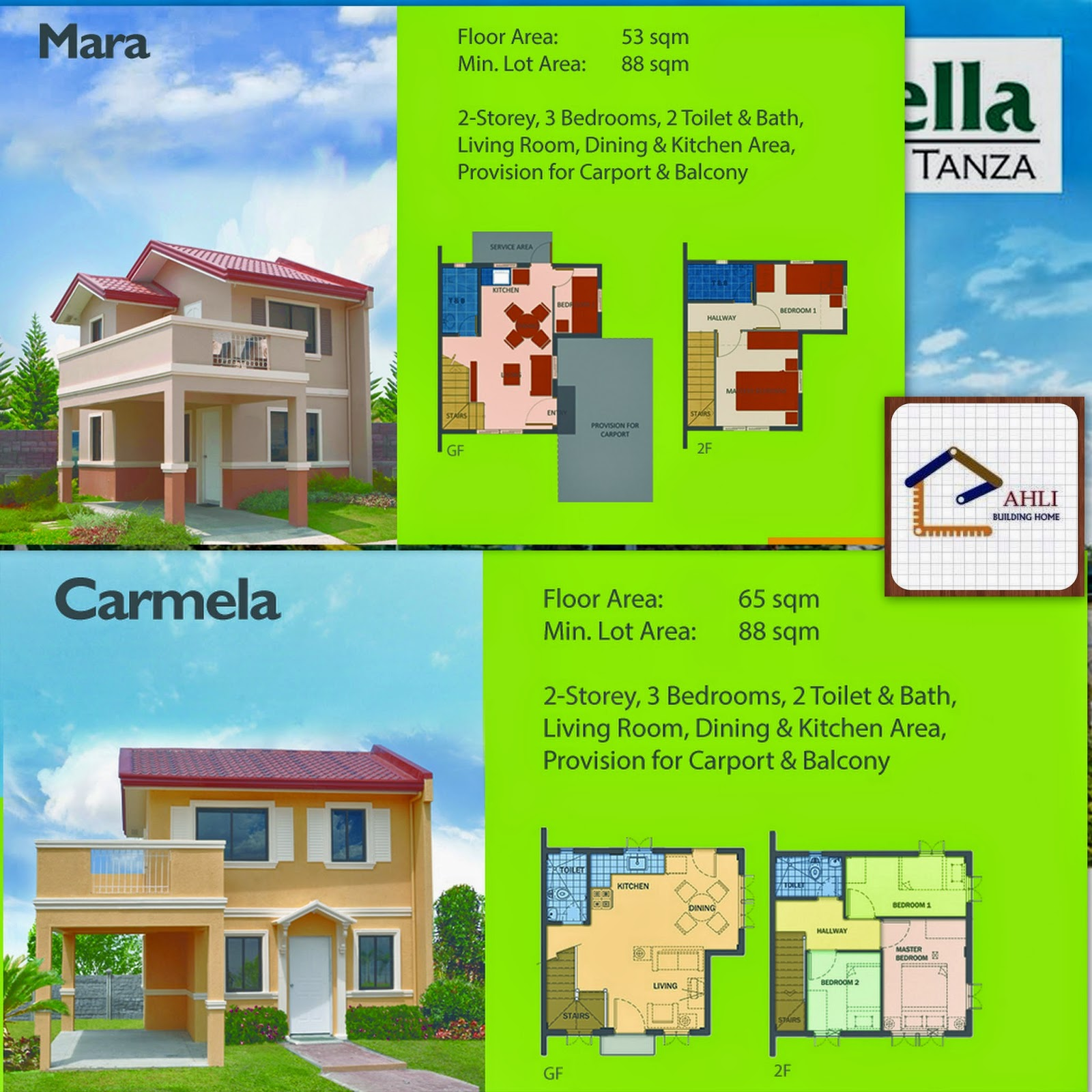 Camella homes house and lot near tagaytay city - Find Sample Computation Of Camella House And Lot Series Here