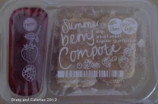 Graze box snacks summer berry compote
