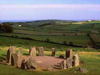 Drombeg Stone Circle, County Cork, Ireland Free Wallpaper