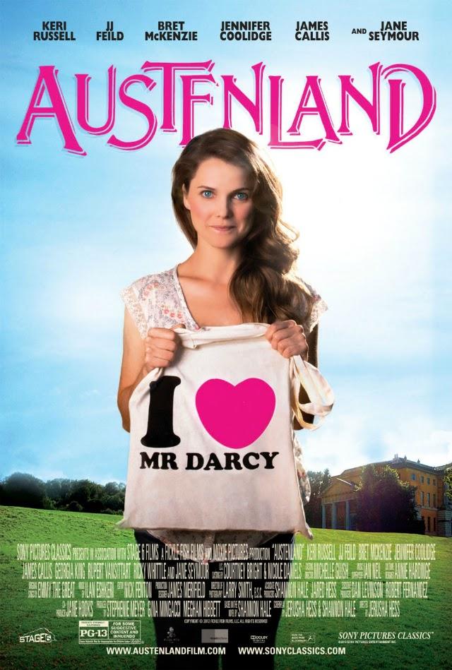 La película Austenland ( En tierra de Jane Austen )