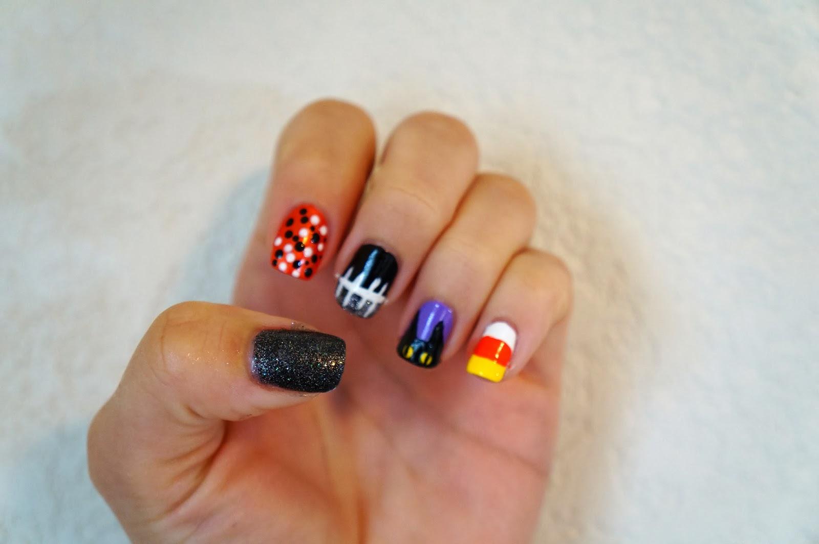 glamourlexi r: festive spooktacular halloween nails!