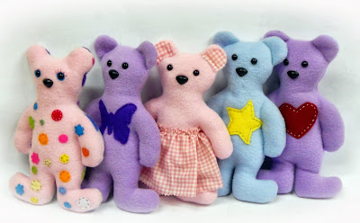 Megan s tiny treasures free teddy bear pattern a simple softie to