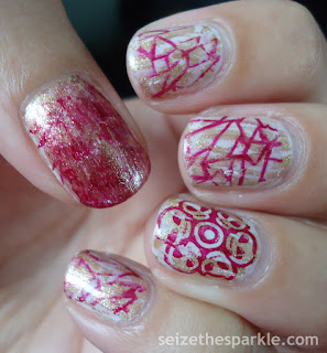 Supernatural Crackle Nails