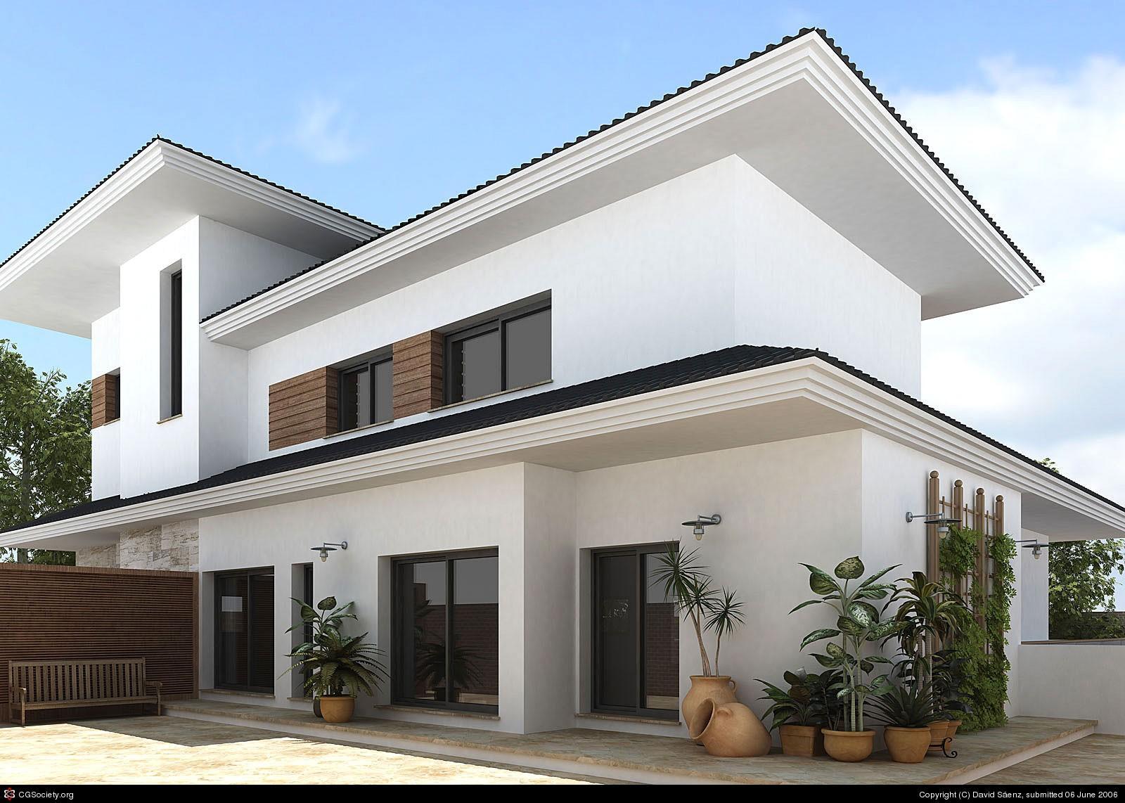 Fachadas De Casas 3d Planos De Casas D Plantas Large Preview Of - Diseo-de-fachadas-de-casas