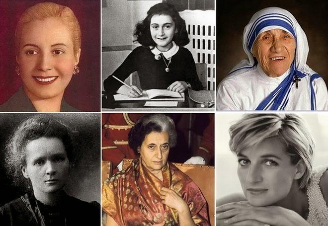 30 γυναίκες σύμβολα, που έγραψαν Ιστορία