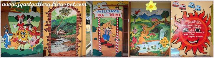 Pelukis mural shah alam pantun nasihat for Mural kartun