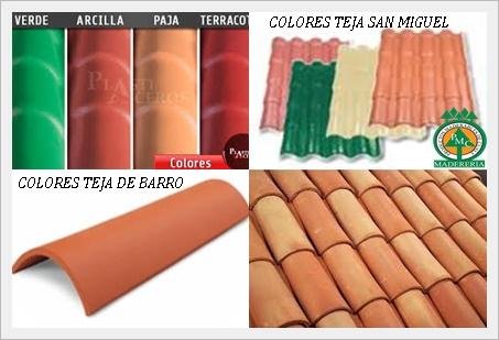 Las Tejas De Barro Como Se Conocen Comúnmente Tienen Un Color Terracota Y  Sólo En Algunas Empresas O Fabricas Las Puedes Encontrar En Otros Colores  Más ...