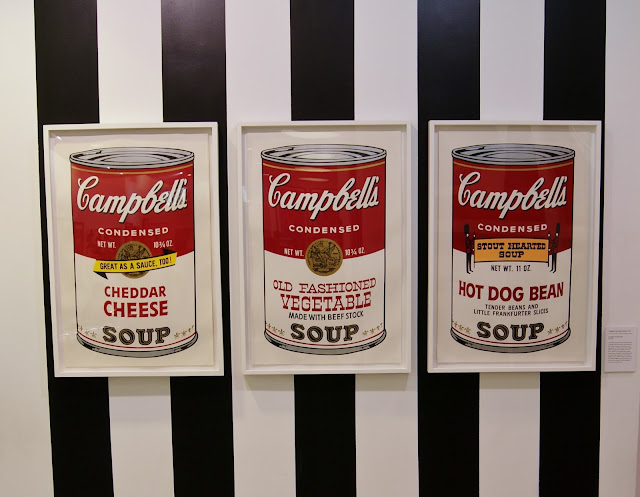 Andy Warhol: Revisited exhibit in Toronto, culture, exhibition, revolver gallery, paintings,ontario, canada, the purple scarf, melanieps, Campbell's Soup