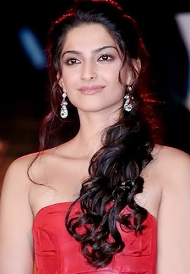 Sonam Kapoor Diamond Chandelier Earrings