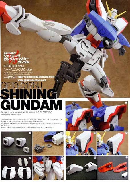 HGFC Shining Gundam images