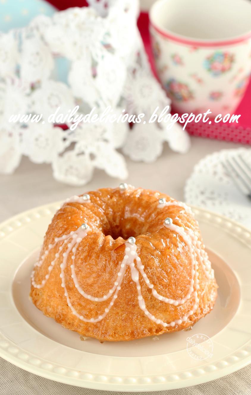 Marmalade Bundt Cake Crystallized Ginger Dundee