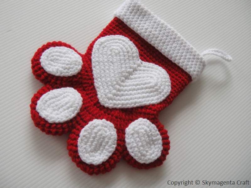 Free Dog Christmas Stocking Crochet Pattern : Search Results for ?Easy Crochet Printable Christmas ...