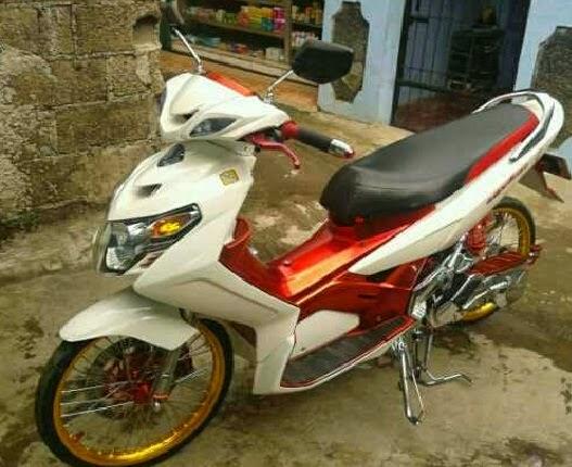 Modifikasi Yamaha Nouvo Keren