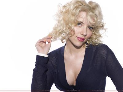 Scarlett Johansson wide hq wallpaper
