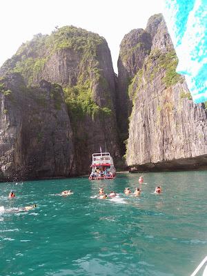 snorkeling, Loh samah Bay