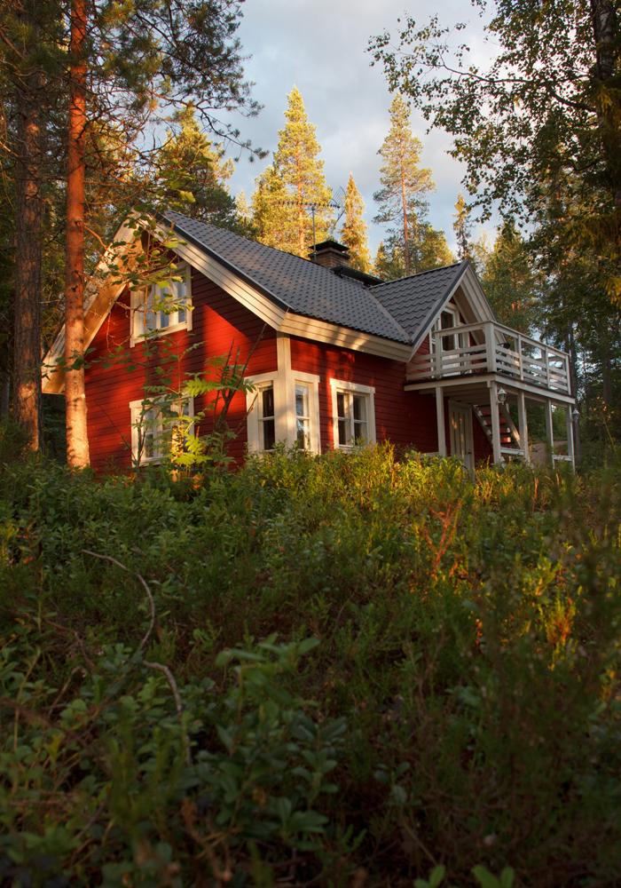 Mopsfidel finnland urlaub teil 6 haus am see for Urlaub haus am see