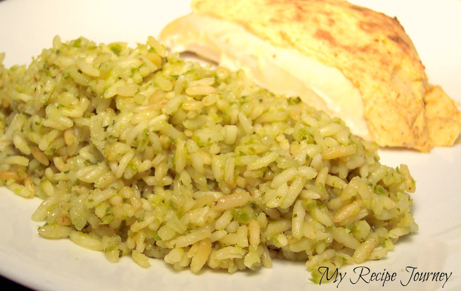 My Recipe Journey: Mexican Green Rice
