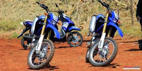 Yamaha WR250R, motorcycle Trail ready to Compete