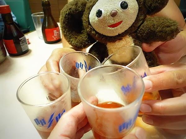 四条大宮 王将 紹興酒