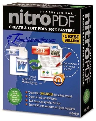 تحميل برنامج Nitro PDF Professional 9.0.7.5