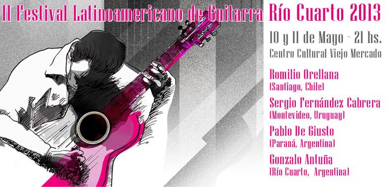 II Festival Latinoamericano de Guitarra - Río Cuarto 2013