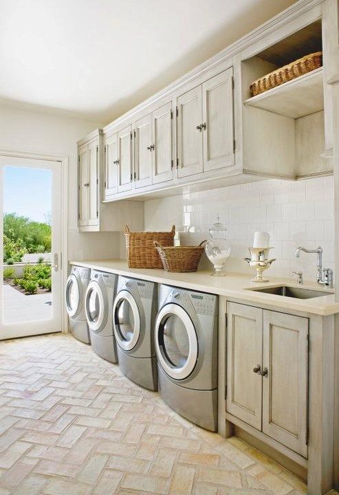 Coastal Style Laundry Inspiration