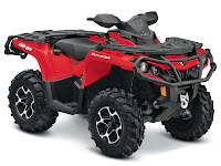 2013 Can-Am Outlander XT 500 ATV pictures 1