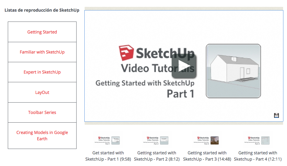 http://www.sketchup.com/es/learn/videos?playlist=58