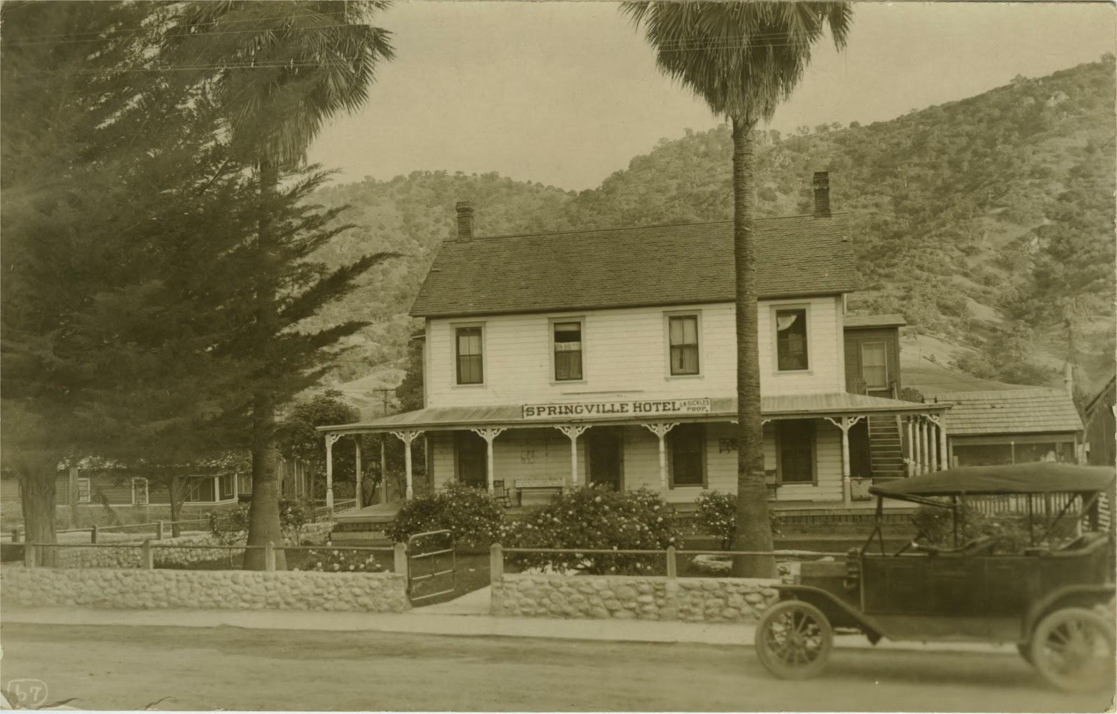 Springville Ca Hotels