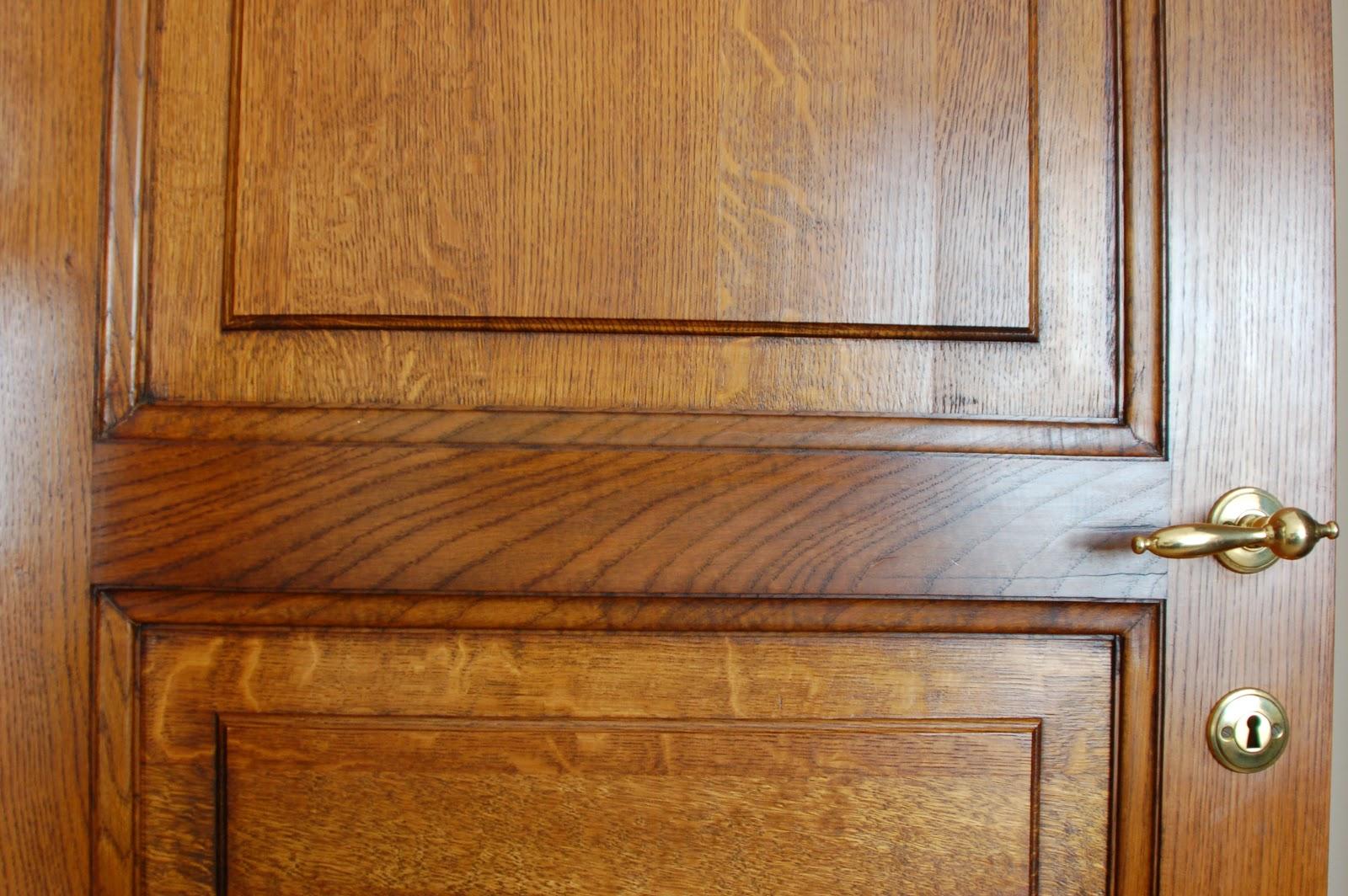 Keuken Laten Zandstralen : Zandstralen van donkere eiken deuren