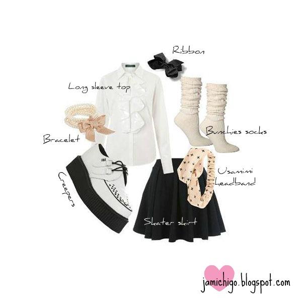 simple kawaii fashion