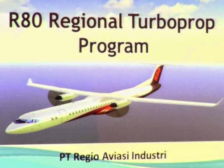 Mengulas Kecanggihan Pesawat R80 Buatan Indonesia