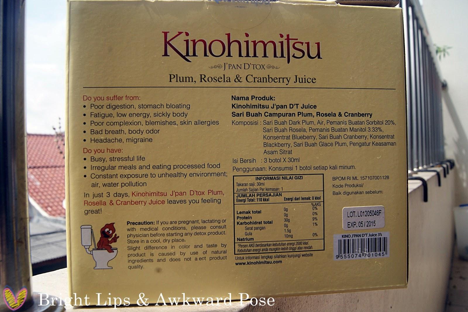 Kinohimitsu Jpan Dt Juice Detox Update Daftar Harga Terbaru 3btl That Is When Japan Come Into The Rescue