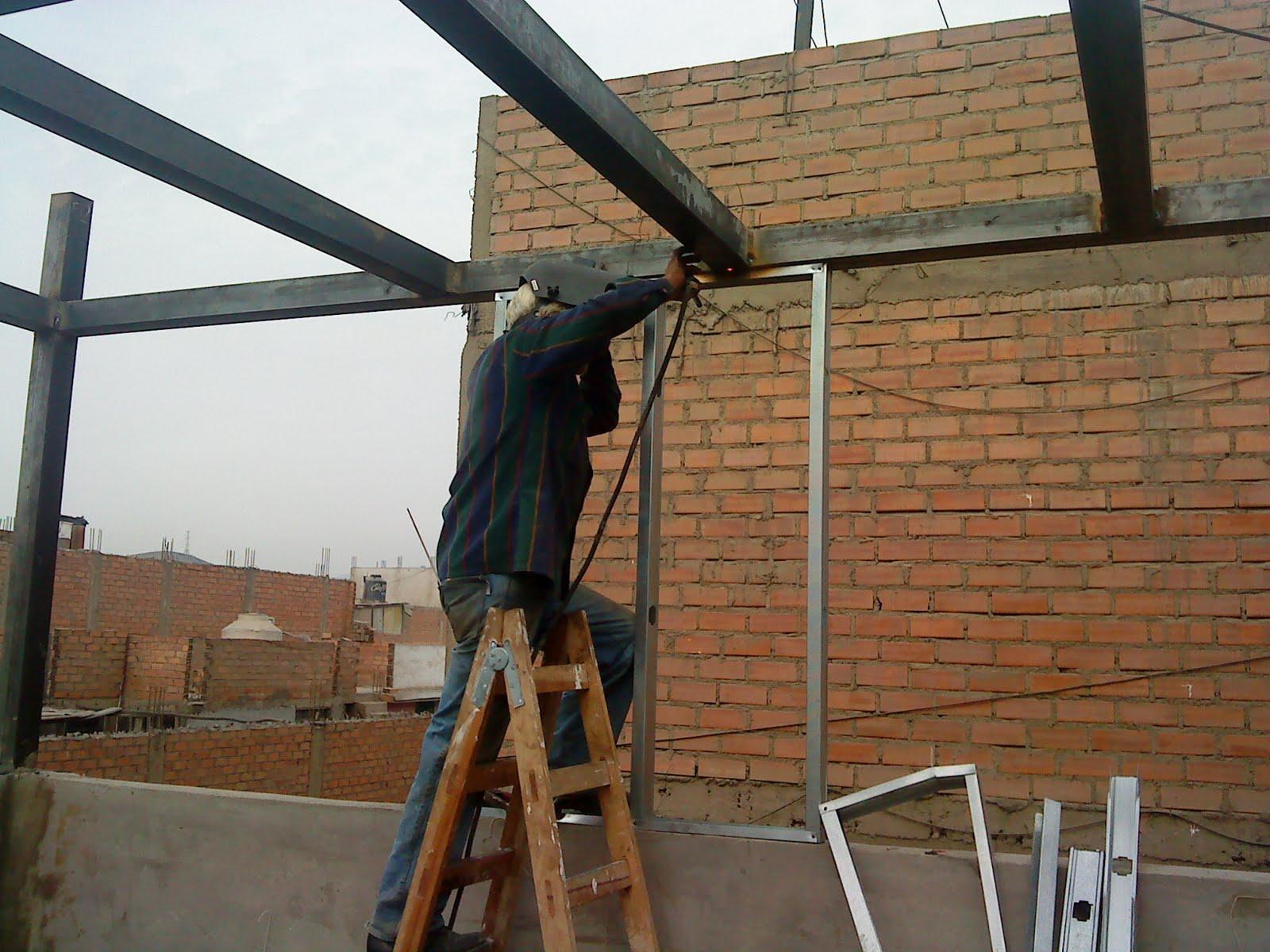 Edificaciones casas minidepartamentos drywall smp - Estructuras metalicas para casas ...
