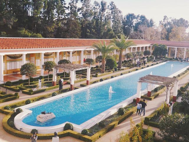 Architecture, Art, Getty Villa
