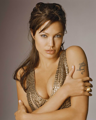 Hot Actress Angelina Jolie