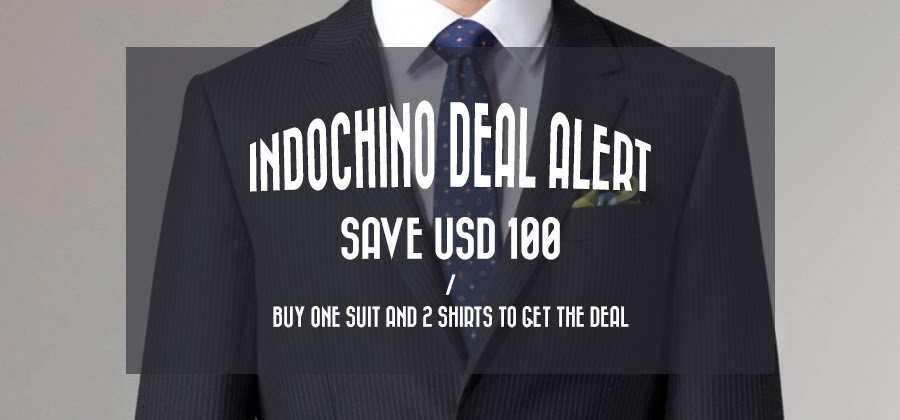 Indochino $100 off