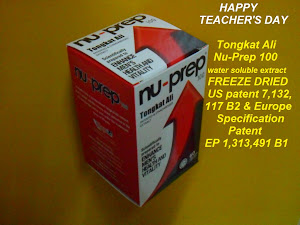 Happy Teacher's Day Sebillion Terima Kasih Nu-Prep 100 water soluble extract Freeze Dried