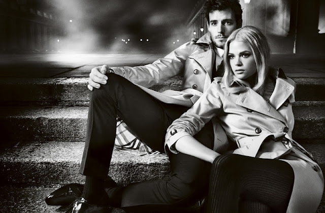 Ad Campaign: Burberry F/W 12.13: Gabriella Wilde & Roo Paner by Mario Testino