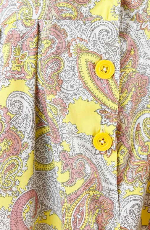 Adorable Paisley Sundress - Yellow