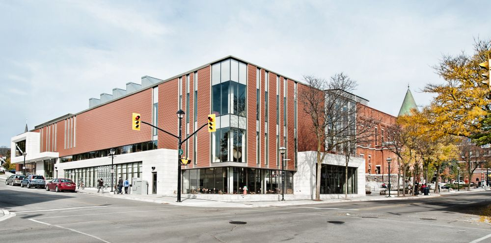 The new Orillia Public Library in downtown.
