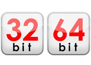 الفرق بين نظام التشغيل 32 بت و 64 بت