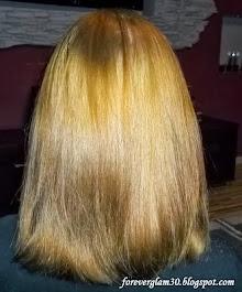 Moje włosy w GRUDNIU 2013 :)