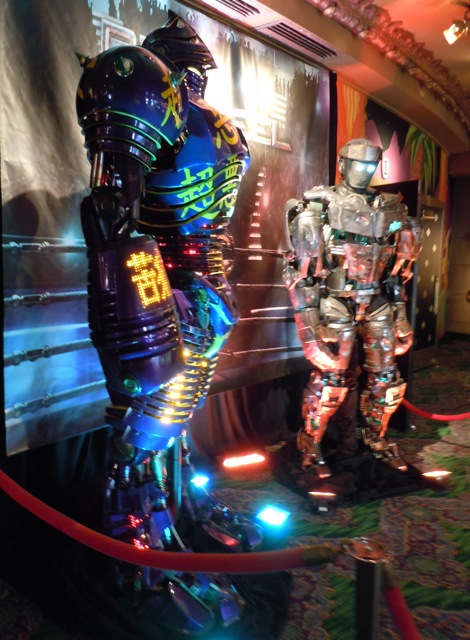 Original Real Steel animatronic robots