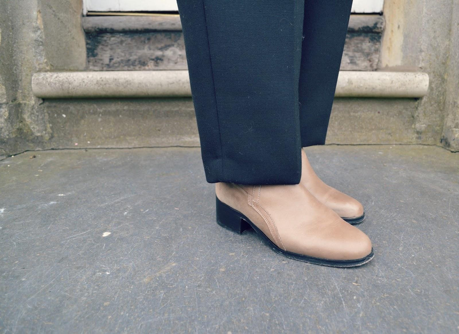 whistles lauren taupe jodhpur boots