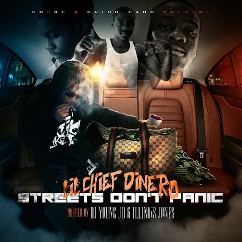 MIXTAPE REVIEW:  Lil Chief Dinero (@EBEDINEROO) - Streets Don't Panic (@DJYoungJD @Illinois_Jones)
