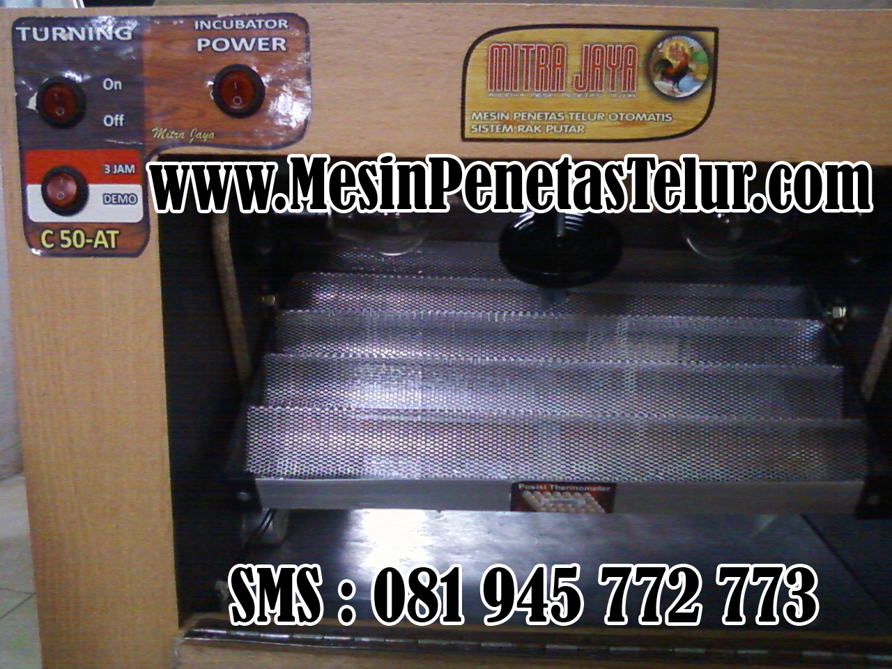 Mesin Penetas Bebek Otomatis : C50 AT